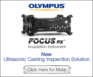 Olympus: New Ultrasonic Inspection Solution