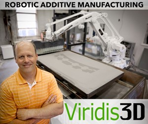 ROBOTIC ADDITIVE MANUFACTURING Viridis 3D