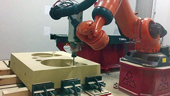 robotic mold milling