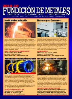 2018-19 Metalcasting Supplement (Espanol)